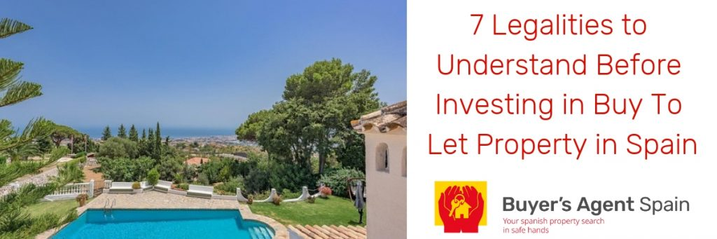 Buy To Let Property in Spain